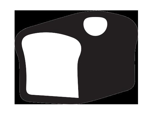 Bread/Bun Top Label