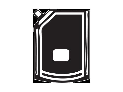 Pouch Front Label
