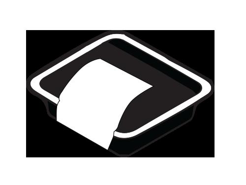 Tray C-Wrap Label
