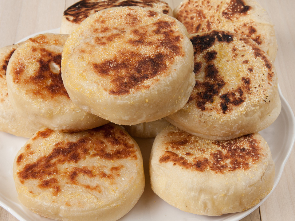 English Muffin Packaging Labeling Machine - Bakery Industry